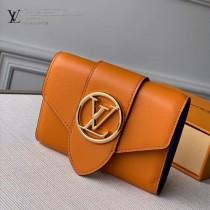 M69175-01  橙色頂級原單短款錢夾