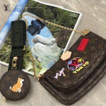 m44813 絲印 Multi Pochette Accessories 手袋