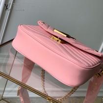 LV 原單新款 m56468 粉色Multi Pochette New Wave手袋