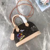 M53152-001  絲印Alma BB 手袋