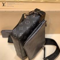 LV原單 M69443 春夏新款 男士三件套斜挎包郵差包