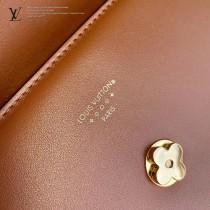 LV M55952 焦糖色 原單牛皮新款  Pont 9 手袋