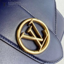 LV M55951 紫藍 原單牛皮新款  Pont 9 手袋