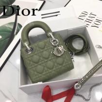DIOR迪奧-018 原版皮3格DiorLady戴妃包 鏈條120cm 可調節皮肩帶