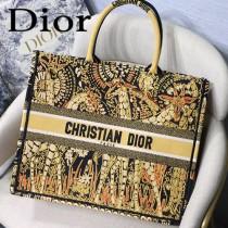 DIOR-013 迪奧原版皮新圖案新款刺繡Dior Book Tote購物袋手提包