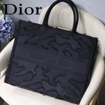 DIOR-018 迪奧原版皮新圖案新款刺繡Dior Book Tote購物袋手提包