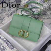 迪奧 原版皮 Dior最新款 牛油果綠30 Montaigne蒙田包