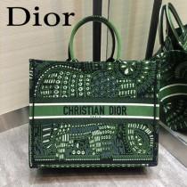 DIOR-010 迪奧原版皮新圖案新款刺繡Dior Book Tote購物袋手提包