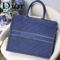 Dior迪奧-03  原版皮大號Book Tote 購物袋
