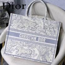 DIOR-019 迪奧原版皮新圖案新款刺繡Dior Book Tote購物袋手提包