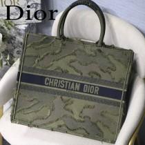 DIOR-022 迪奧原版皮新圖案新款刺繡Dior Book Tote購物袋手提包