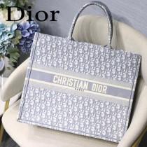 Dior迪奧-01  原版皮大號Book Tote 購物袋