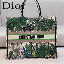 DIOR-04 迪奧原版皮新圖案新款刺繡Dior Book Tote購物袋手提包