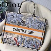 DIOR-014 迪奧原版皮新圖案新款刺繡Dior Book Tote購物袋手提包