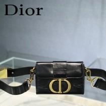 迪奧-02 原版皮 Dior  蒙田 Mini Box 相機包