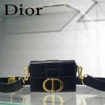 迪奧-03 原版皮 Dior  蒙田 Mini Box 相機包