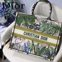 DIOR-023 迪奧原版皮新圖案新款刺繡Dior Book Tote購物袋手提包