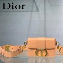 迪奧-01 原版皮 Dior  蒙田 Mini Box 相機包