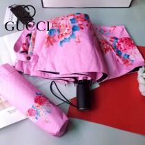 GUCCI 古馳  專櫃夏季新款花卉圖案系列全自動折疊晴雨傘
