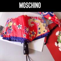 Moschino 莫斯奇諾 華美腰果圖案自動遮陽傘