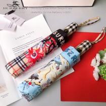 巴寶莉 BURBERRY  專櫃夏季新款 全自動折疊晴雨傘