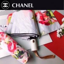 CHANEL香奈兒 2020最新花朵圖案  全自動折疊晴雨傘