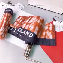 巴寶莉 BURBERRY 2020最新火爆單品 奢華豹紋圖案  全自動折疊晴雨傘