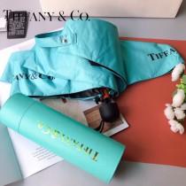 Tiffany蒂芙尼 配高檔圓桶包裝五折傘
