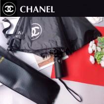 CHANEL 香奈兒經典自動雨傘 遮陽傘