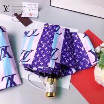 LV 專櫃夏季新款 米格全自動折疊晴雨傘