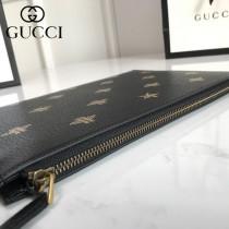 GUCCI 495066 專櫃同步GDBee Star Pouch 蜜蜂星星印花手包