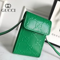 GUCCI 625571 新款原版皮手機包