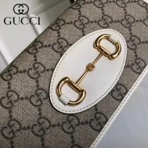 GUCCI 621892 WOC系列馬銜扣標誌發財包