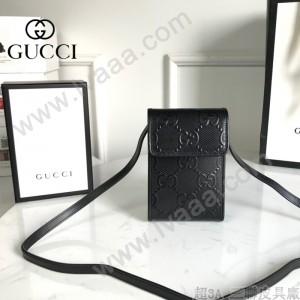 GUCCI 625571-01 新款原版皮手機包