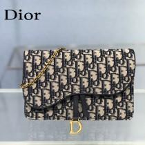 Dior 5620 原版皮老花系列鏈條包