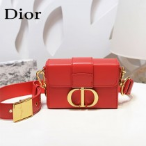 DIOR 新款原版皮30-01 Montaigne Mini Box盒子包