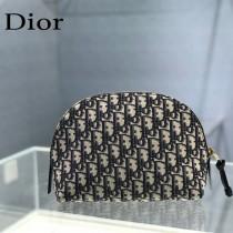 9207 Dior 新款原版皮化妝包