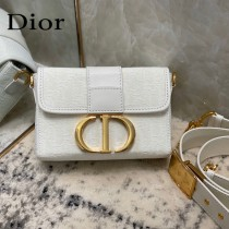 DIOR 新款原版皮30-02 Montaigne Mini Box盒子包
