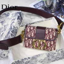 Dior  30 Montaigne Mini Box原版皮盒子包