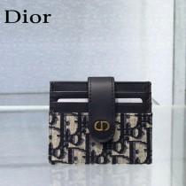 Dior 205經典圖案提花卡包