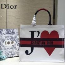 Dior 新色-七夕紅限定款 大號Book tote 購物袋