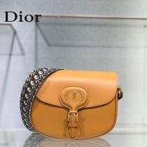 M9320-01  Dior bobby大號原版皮郵差包