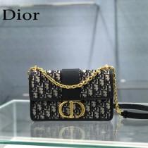 Dior 30 Montaigne 蒙田原版皮 鏈條斜挎包