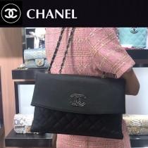 CHANEL-02  新款鹿紋牛皮購物袋肩背包