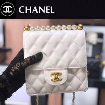 CHANEL-02  最新款珍珠鏈條包包
