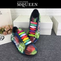 MQ麥昆-01 第三代原單正品ALEXANDER MQUEEN麥昆小白鞋情侶款夜光版