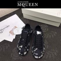 MQ麥昆-01  第三代原單正品ALEXANDER MQUEEN麥昆小白鞋情侶款塗鴉