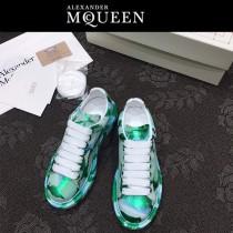 MQ麥昆-07  第三代原單正品ALEXANDER MQUEEN麥昆小白鞋情侶款塗鴉
