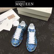 MQ麥昆-05  第三代原單正品ALEXANDER MQUEEN麥昆小白鞋情侶款塗鴉