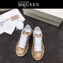 MQ麥昆-010  第三代原單正品ALEXANDER MQUEEN麥昆小白鞋情侶款塗鴉